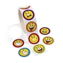 Diversión Expreso Goofy Sonrisa Cara Pegatinas (1 Rollo)
