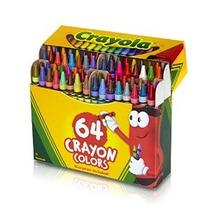 Crayola 64 Ct Crayones (52 A 0064)