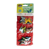 Animal De Juguete Figuras - Wild Republic Triple Mini Maripo