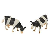 Vaca Granja Juguete - Globo Kids 2 Paquete Negro Blanco Dere