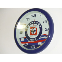 Reloj De Pared Del Cruz Azul