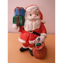 Figura Santa Claus By Homco Japon Vintage Navidad Christmas