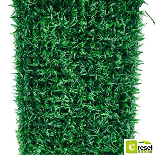 Muro verde follaje artificial sintetico p1 jardin 60 x 40 for Jardin verde