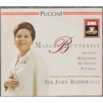 Puccini Madama Butterfly Opera Completa 2 Cd Made In England