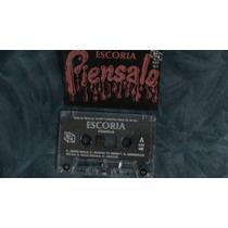 Escoria Cassete Piensalo 1989 Portada Original