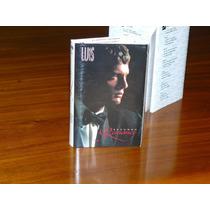 Cassette Luis Miguel Segundo Romance Importado Coleccion