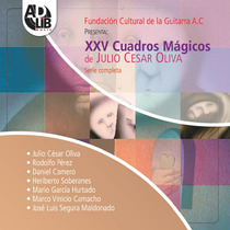 Xxv Cuadros Mágicos De Julio Cesar Oliva