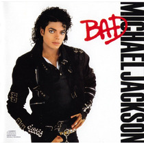 Michael Jackson: Bad. Cd Seminuevo.1ra Ed 1987 Made In Usa.