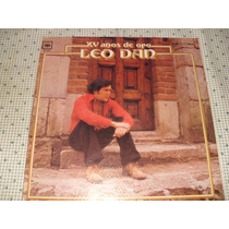 Leo Dan Xv Años De Oro Lp