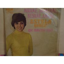 Estela Nuñez Lp 45rmp Mirame Abrasame.