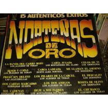 Disco Acetato De 15 Autenticos Exitos Norteñas De Oro