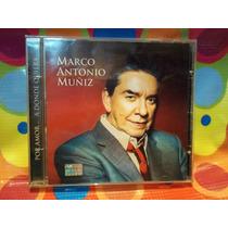 Marco Antonio Muñiz Cd Por Amor..a Donde Quiera,03