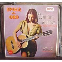 Disco Lp Acetato Johnny Albino Epoca De Oro Vol 2 Seminuevo