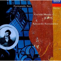 Eduardo Fernandez - Sor Guitar Music Cd Clasica Guitarra Mp0