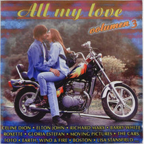 Cd Disco Compacto All My Love Volumen 3