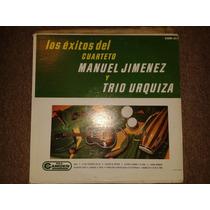 Disco Acetato: Cuarteto De Manuel Jimenez Y Trio Urquiza