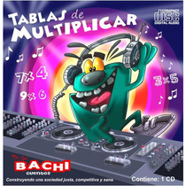 Cd Bachi Tablas De Multiplicar