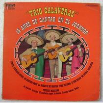 Trio Calaveras / 15 Años De Cantar En... 1 Disco Lp Vinilo