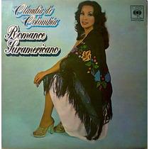 Claudia De Colombia Lp Discos Importados Muy Raros
