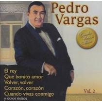 Vargas Pedro Grandes Voces De Mexico Volumen 2 Cd Nuevo