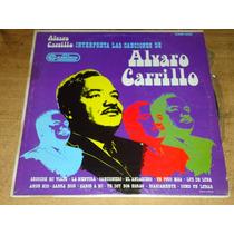 Alvaro Carrilo Acetato Vinil Disco Lp