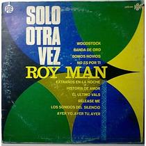 Roy Man Alone Again Lp Muy Raro Dificil De Conseguir Op4