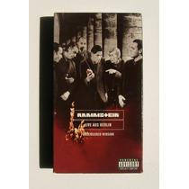 Rammstein Live Aus Berlin Casette Vhs Importado 1999
