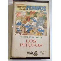 Cassette Navidad En El Pais De Los Pitufos