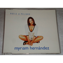 Myriam Hernandez Huele A Peligro Cd Promo Columbia