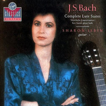 Sharon Isbin - Bach Lute Suites Cd Clasica Guitarra Mp0