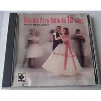 David Hernandez Musica Para Baile De 15 Años Cd Musart 1991