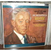 Rubinstein Reiner Lp Rca Red Seal Stereo