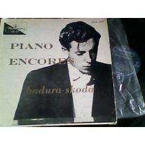 Disco Lp De Acetato Badura Skoda Plays Piano Encores