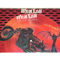 Meat Loaf Photo Disco Picture Vinyl Bat Out Of Hell New Hm4
