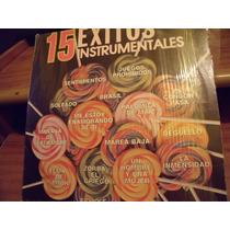Lp 15 Exitos Instrumentales, Envio Gratis
