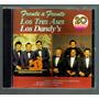Los Tres Ases Y Los Dandy S 20 Exitos Cd Rarisimo Ed 1989