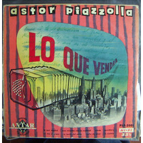 Tango, Astor Piazzolla ( Lo Que Vendra), Lp 12´, Css.