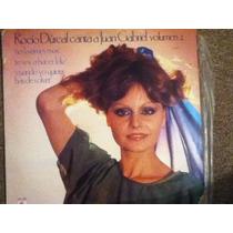 Disco Acetato De: Rocio Durcal Canta A Juan Gabriel Vol.2