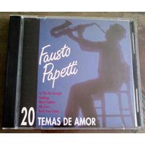 Fausto Papetti 20 Temas De Amor Cd Importado De Usa 1994 Idd