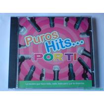 Puros Hits De La Revista Bravo Por Ti Cd 2003 Muy Raro! Hm4