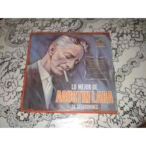 Agustin Lara Lo Mejor 36 Selecciones Caja Dura C/ 3 Acetatos