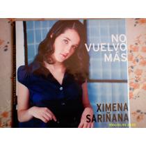 Ximena Sariñana/no Vuelvo Mas/single.
