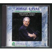 Jorge Lavat Poemas Y Canciones Romanticas Cd Ed 1996 Hwo