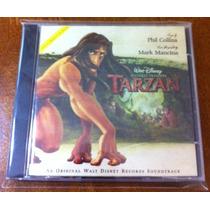 Tarzan Soundtrack (phil Collins) (cd, 1998) Importado Fn4
