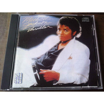 Michael Jackson Thriller Cd Importado 1a Ed C/booklet Poster