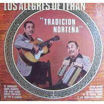 Bolero, Los Alegres De Teran, Lp 12´, Hecho En México.