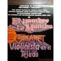 Disco Acetato De El Hombre De La Mancha Violinista En El Tej