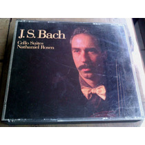 Nathaniel Rosen J.s. Bach Cello Suites Cd Doble Importado