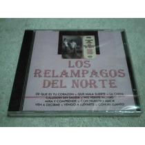 Cd Los Relampagos Del Norte - Cd Musica Norteña