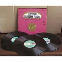 Mariachi Monumental De Silvestre Vargas 1976 3 Acetatos Idd